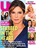 US Magazine Sandra Bullock Stabbed in the Heart Jesse James & Kat Von D, Jen Schefft, Brad Womack The Bachelor, Taylor Swift, Jake Gyllenhaal, Ali Larter, Ryan Renolds, Kyle & Kim Richards, Kate Middlteon, Lamar Odum, Sammi Sweetheart, Kim Kardashian (February 7, 2011, Issue #834)