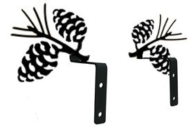 Pinecone Swags 3in.W x 6.325in.H x 0in.D