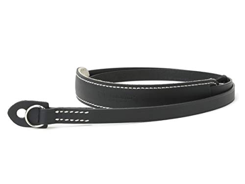 (ARTISAN&ARTIST Waxed Leather Camera Strap ACAM-200 Black)