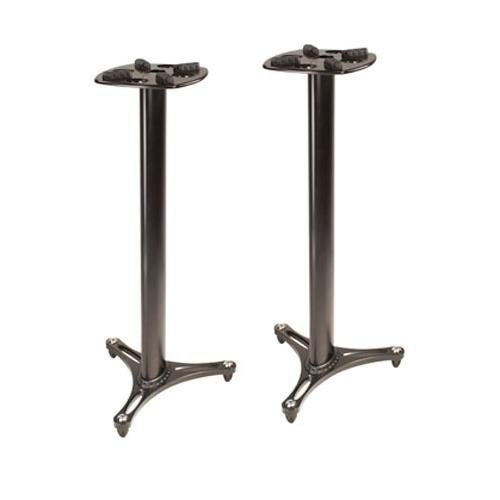 Ultimate Support MS-90/45B MS Series Professional Column Studio Monitor Stand with Non-marring Decoupling Pads - 45