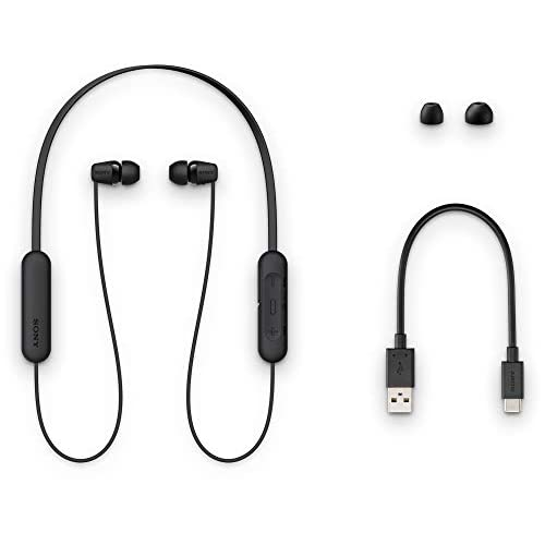 Sony WI-C200 Wireless Neck-Band Headphones with up to 15 Hours of Battery Life – Black 6