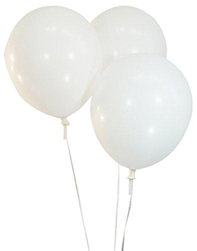 White Balloon Pastel - Creative Balloons 12