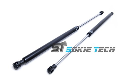 Sokietech Shock Spring Strut Rod Prop Lift Support Gas Hood Damper Kit for 1989~1994 Nissan S13 240SX 240sx Hood