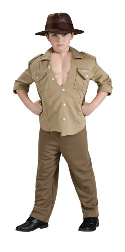 89fd586803001 Disfraz de Indiana Jones musculoso para niño - 5-7 años  Amazon.es   Juguetes y juegos