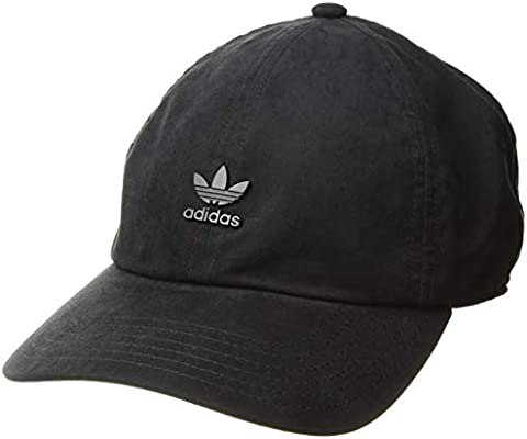 aabbbe92c6456 Amazon.com  adidas Men s Originals Metal Logo Relaxed Adjustable ...