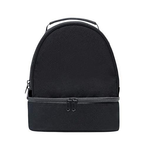 Lunch Box Leakproof Honorable Large Medal Trophy Happy Reusable Double Layer Handbags Women Kitchen Durable Lunch Cooler Bag Work For Adult Cooler With Shoulder Strap