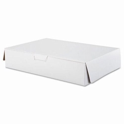 (Southern Champion 1029 White Half Sheet Tuck-Top Bakery / Cake Box, 19