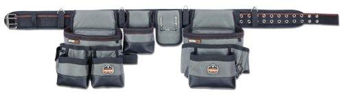 Ergodyne Arsenal 5504 Tool Belt Rig with Pouches, 34-Pockets, XL