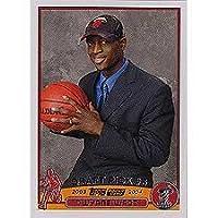 "Dwayne Wade 2003/2004 Topps Basketball ""Draft Draft # 5"" Cerca de Mint a Mint Tarjeta para Novato # 225 ¡Enviada en un soporte de rosca protector!"
