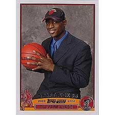 2004 Topps Draft Picks - Dwayne Wade 2003/2004 Topps Basketball