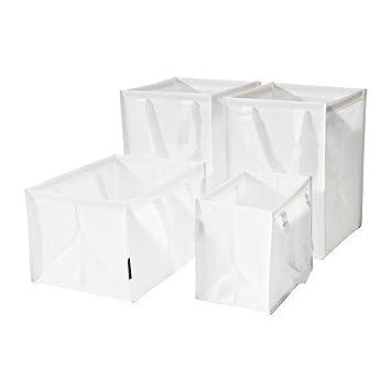 IKEA DIMPA  Abfall Sortieranlage Taschen Set Von 4 Weiß