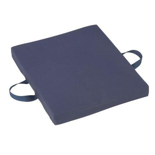 MABIS Gel/Foam Flotation Cushion, 16 x 20 x 2, Black Oxford Nylon, 1/Ea, MAB513-7645-0200 by MABIS DMI Healthcare