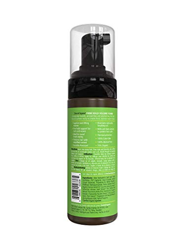 DermOrganic Firm Hold Volume Foam with Pomegranate Anti-Fade Extract - Alcohol-Free, 5 fl.oz. 2