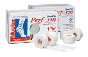 Mueller Perform High Performance Porous Athletic Trainers Tape 1.5 - 32 ROLLS by Mueller Braces by Mueller Braces