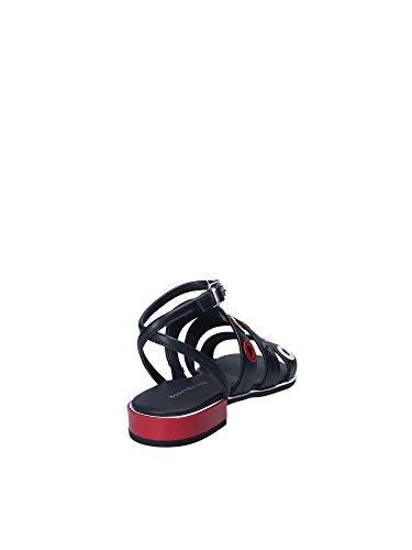 Sandales Fw0fw02209 Hilfiger Noir Femmes Tommy qpWaSEwn