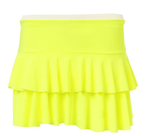 Citron Flashy Mini Fashion Fast JupeTutu Femme qPXHxFw