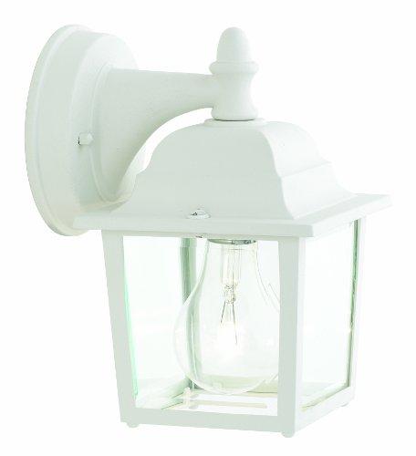 Thomas Lighting SL94228 Hawthorne Outdoor Wall Lantern, Matte White