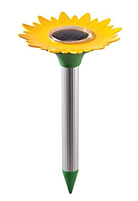 Solar Sunflower Rodent Repeller