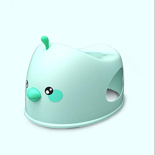 LLRDIAN Inodoro para ninos ▎ Asiento para Inodoro para el Inodoro Asiento para bebes Cartoon Taburete en Cuclillas Orinal de Dibujos Animados Simple Infantil (Color : Green)