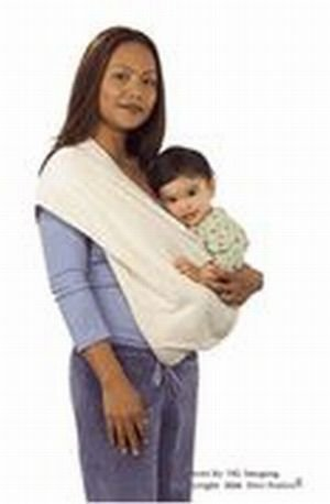 94a19be8081 Amazon.com   Baby Carrier Sling by New Native - Organic Dusty Rose Twill