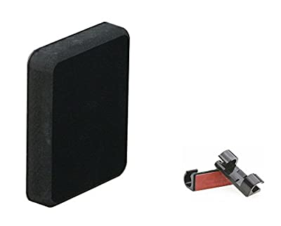 Stern Pad - Transducer Mounting Kit (No Screwing into Boat) - Black by Plug Pads