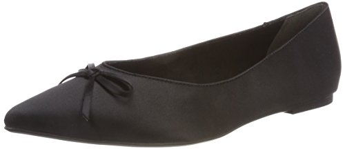 Tamaris WoMen 22208 Closed Toe Ballet Flats Black (Black 001)