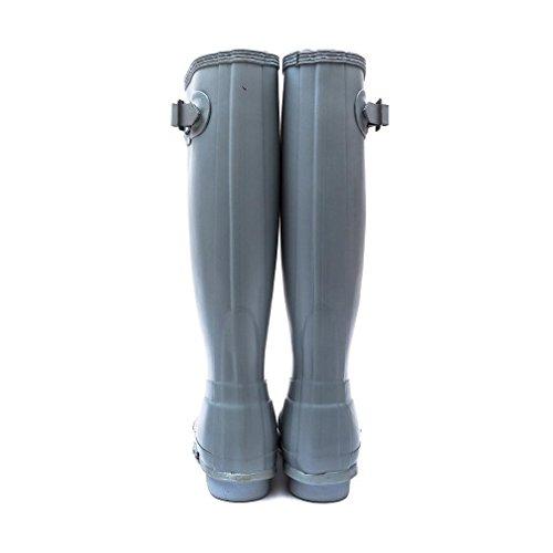 Hunter Original Tall (W23499) - Botas Mujer Azul - Celeste