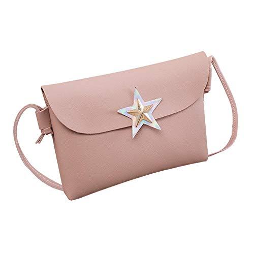 Bags Shoulder Handbag Women Fashion Clutch Star Shoulder Messenger Crossbody Messenger Pink Bags Bag Girls Widewing OwSpFPzzq