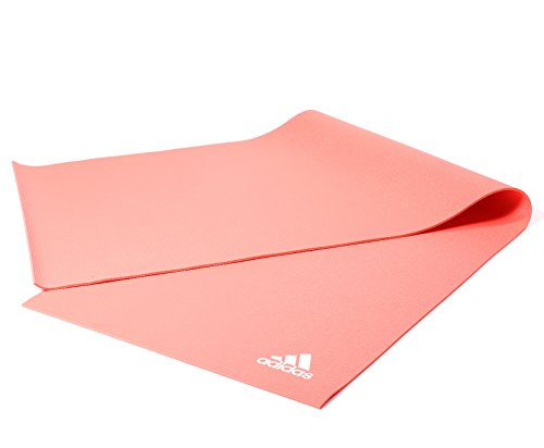 Adidas Yogamatte–rot, 4mm