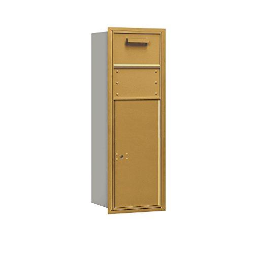 Salsbury Industries 3711S-1CGR 4C 11 Door High Unit Single Column Rear Access Horizontal Collection Box, 41