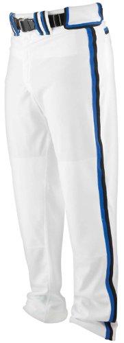 Worth Adult Softball Titan Pant - Braid - Grey/Royal/Black - 2XL