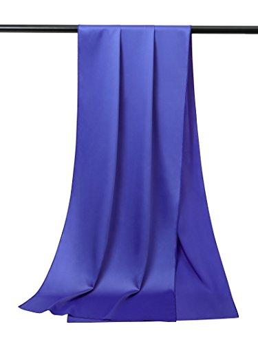 Alicepub Soft Satin Bridal Shawl Wedding Wrap Stole Scarf for Women's Evening Dress, 79