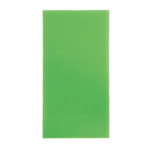 TrendLight 860378 Decorative Wax Sheets Set of 10, Wax Sheets for Decorating Candles, 200 x 100 mm, Apple Green by TrendLight