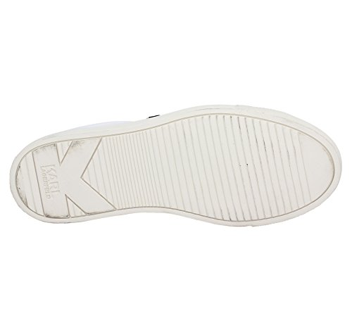 Karl Lagerfeld Kupsole Karl Ikonik Lo Lace Womens Sneakers White
