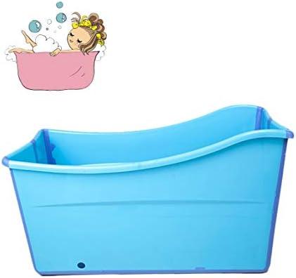 折りたたみバスタブ GYF 折りたたみバスタブ 大人用浴槽の折りたたみ 大型浴槽の赤ちゃん用プール 浴槽を折る大人の浴槽の世帯の子供子供用プールプール (Color : Blue)