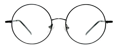 1393348a5734 www.lesbauxdeprovence.com Metal Full Rim Round Eyeglasses Frame (Large  Size) -