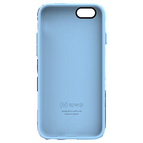 Speck 73776-5367 CandyShell Inked Luxury Edition - Coque pour iPhone 6s et 6, Soie hawaïenne/bleu pervenche