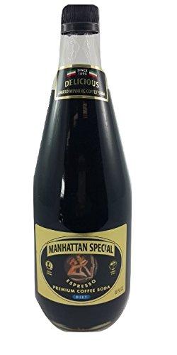 Manhattan Special Espresso Premiun Coffee Soda - Diet 32 oz (1 Bottle)
