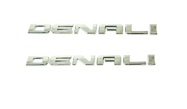 OEM NEW Front Door Right and Left Denali Emblem Nameplate Set 01-08 GMC 15070426