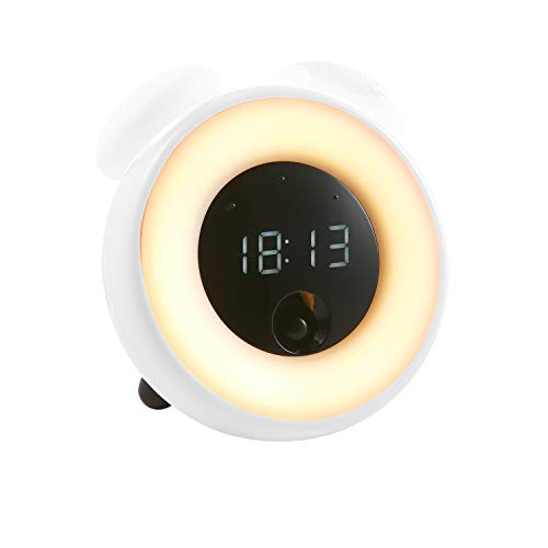 SZRWD Smart Mushroom Alarm Clock, Wake Up Clock with Adjustable & Touchable...