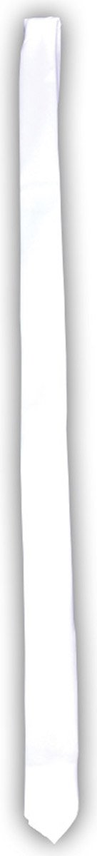 Morris Costumes Halloween Party Costume Gangster Tie Long - White