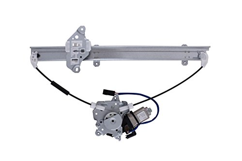HANSUN 8832-0632 Power Window Regulator With Motor Front Left Driver Side For Mercury Nissan - Quest Villager - Van