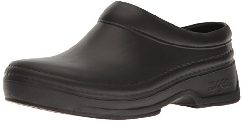 Klogs USA Women's Springfield Closed Back Clog,Black,8 W US by Klogs