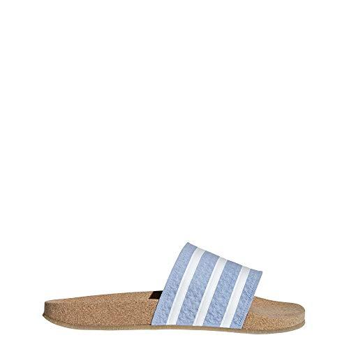 online retailer ff327 f3a41 W amp De Chaussures Adilette ftwbla Piscine Plage 000 azucen gum4 Bleu  Cork Femme Adidas YqZEq