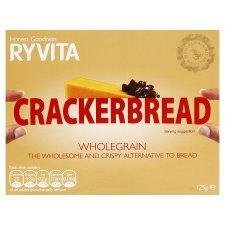Ryvita Whole-Grain Cracker-Bread 125g - Pack of (Ryvita Whole Grain)