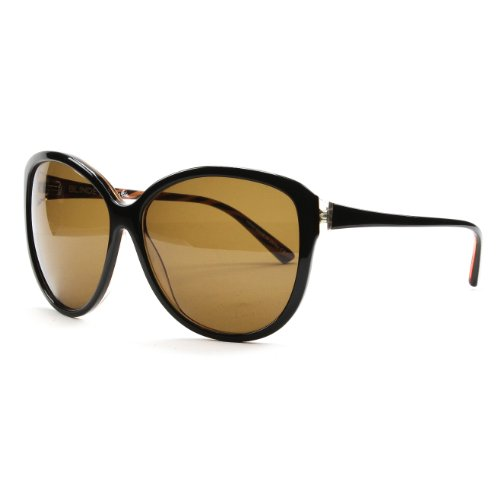 Blinde Eyewear Womens Like Totally Sunglasses Black Brown Zebra Striped / - Sunglasses Zebra Striped