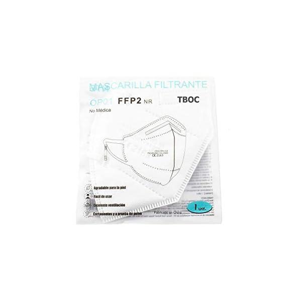 TBOC-FFP2-Masken-Packung-20-Einheiten-Einwegmasken-Wei-5-Schichten-Nicht-wiederverwendbar-Atmungsaktives-Falten-mit-Nasenklemme-Zertifiziert-und-Genehmigt-CE-2163-Premium-Qualitt