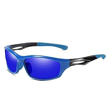 Gafas Deportivas Hombre,Gafas de Sol polarizadas,Riding Sports Sunglasses Bicicletas de montaña a