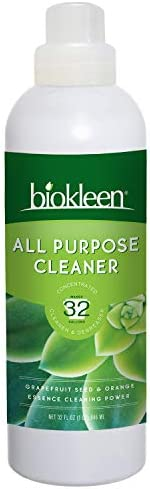 Biokleen All Purpose Cleaner - 32 Gallons - Super Concentrated, Eco-Friendly, Plant-Based, No Artificial Fragr