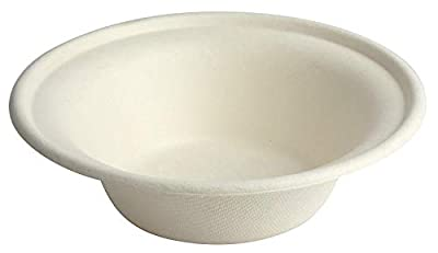Brheez Biodegradable Compostable Sugarcane / Bagasse 6 inch Plates